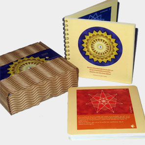 Meditation cards with booklet